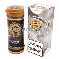 Табак трубочный TURBO DOKHA Black 12 гр (банка) ОАЭ