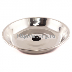 Тарелка серебрянная