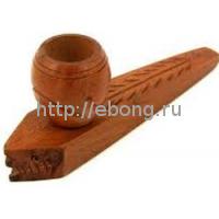 Трубка дерево рыжая-акула (10см L015-8)