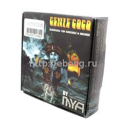 Уголь Джин 16 куб Кокосовый GENIE COCO MYA (22*22*22 мм)