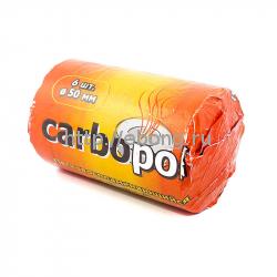 Уголь кальянный Carbopol 50мм, 6таб