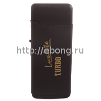 Зажигалка Luxlite Black Rubber XHD207
