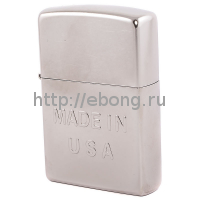 Зажигалка Zippo 28491 Made in USA Street Chrome Бензиновая